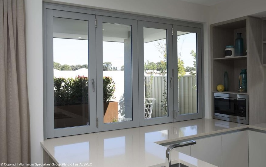 Aluminium BiFold Windows - Alspec Carinya Range (Made to