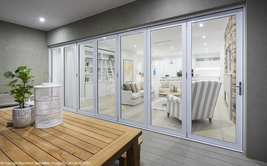 Aluminium BiFold Doors Sydney - Single and Double Glazed